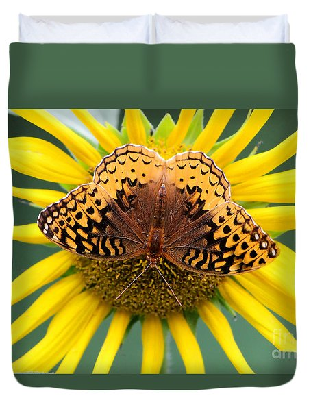 The Butterfly Effect Duvet Cover by Tina  LeCour
