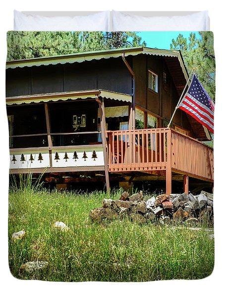 The Cabin Duvet Cover