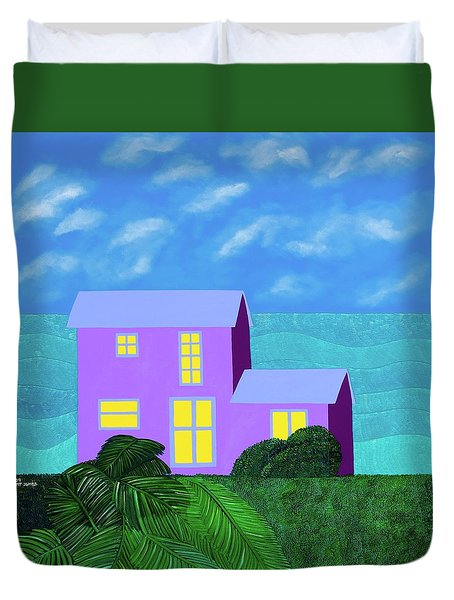 The Caicos Duvet Cover