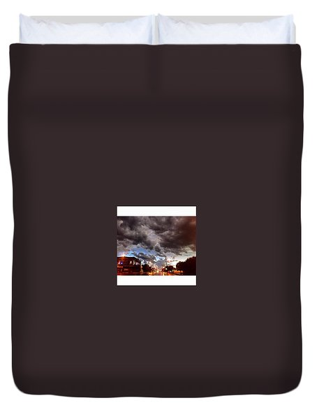 The Calm After The Storm Duvet Cover
