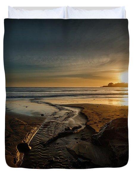 The Calming Bright Light Duvet Cover