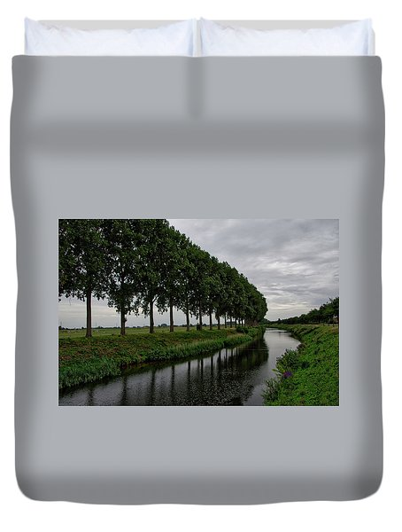 The Canal Duvet Cover