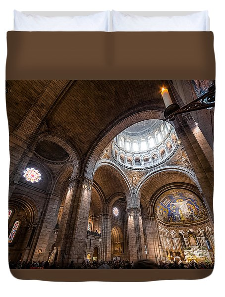 The Candle Duvet Cover by Giuseppe Torre