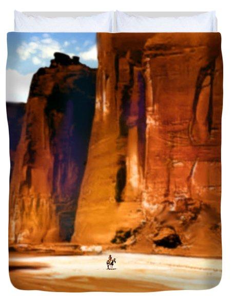 The Canyon Duvet Cover by Paul Sachtleben