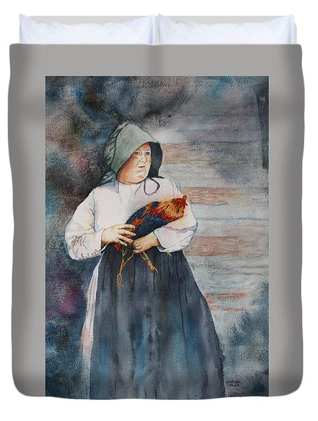 The Capture Of Beauregard Duvet Cover