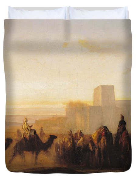 The Caravan Duvet Cover