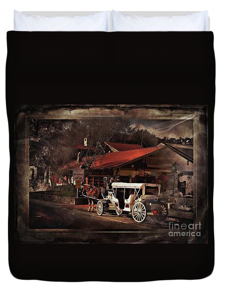 The Carriage Duvet Cover