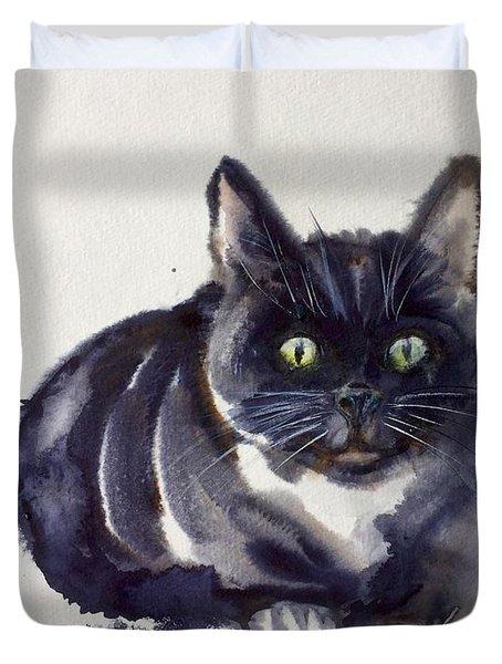 The Cat 8 Duvet Cover