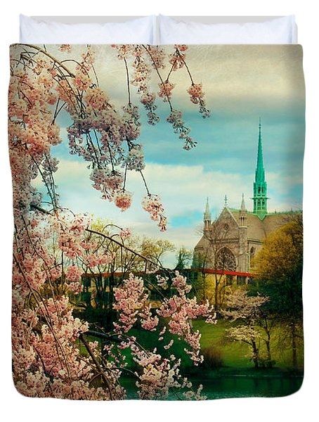 The Cathedral Basilica Of The Sacred Heart Duvet Cover