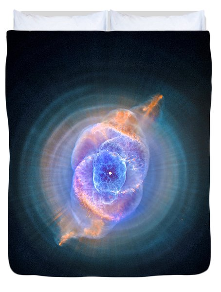 The Cat's Eye Nebula Duvet Cover