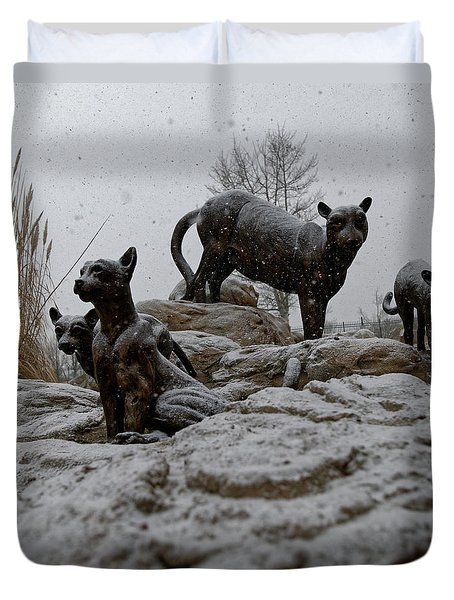 The Cats Duvet Cover