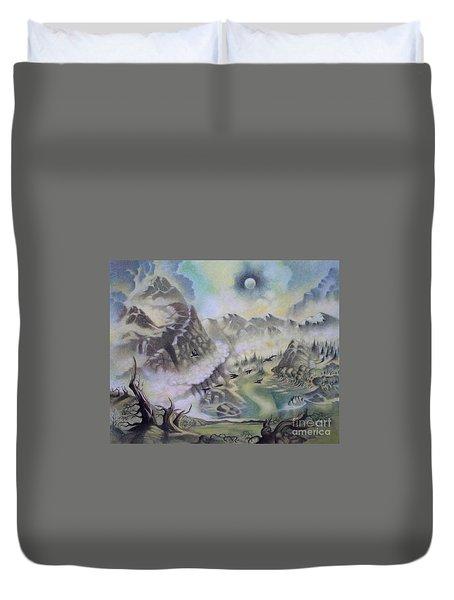 The Cauldron Duvet Cover