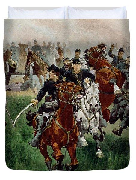 The Cavalry Duvet Cover