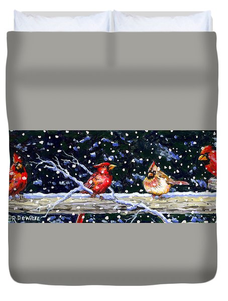The Cedar Rail Gang Duvet Cover