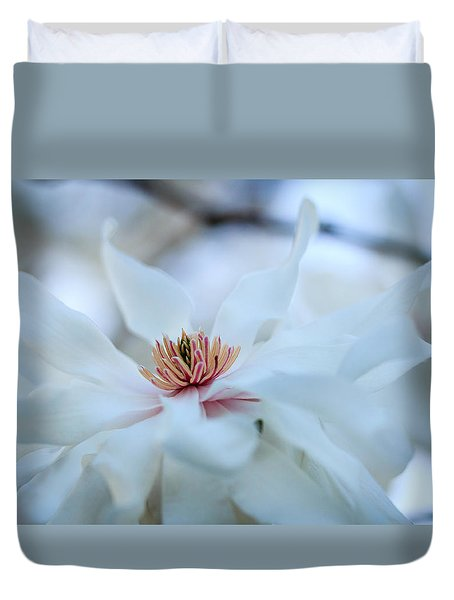 The Center Of Beauty Duvet Cover