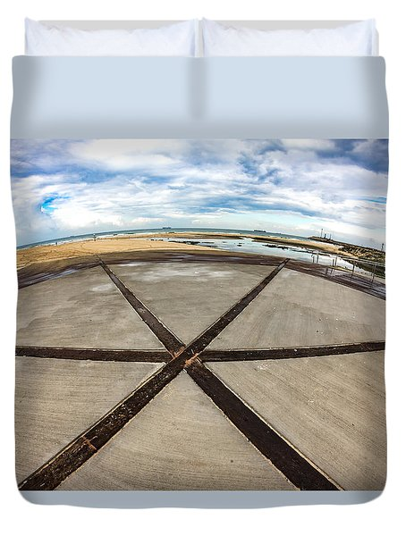 The Center Of The Earth Duvet Cover