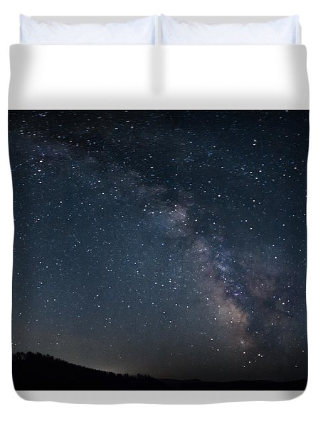The Center Rising Duvet Cover