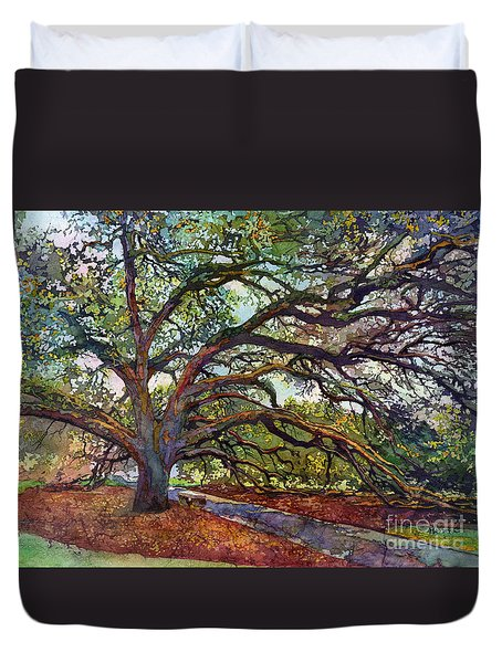 The Century Oak Duvet Cover by Hailey E Herrera