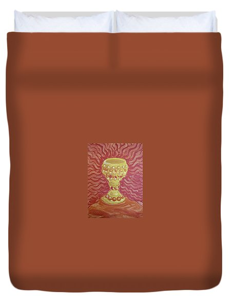 The Chalice Or Holy Grail Duvet Cover