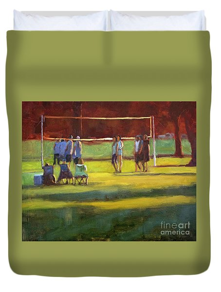 The Challenge  Duvet Cover