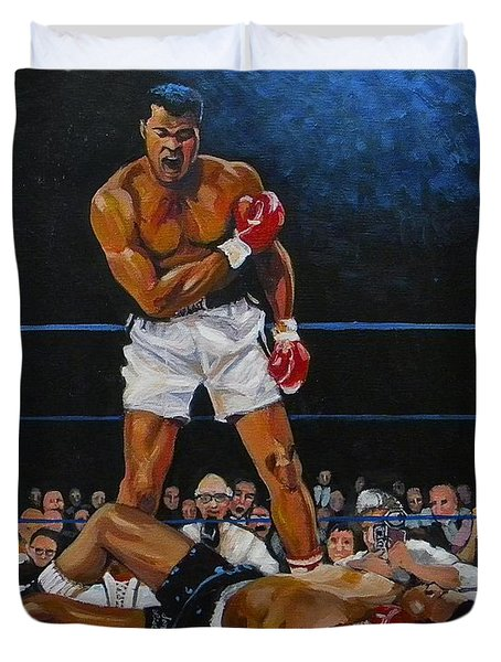 The Champ Duvet Cover