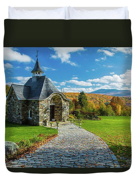 The Chapel Duvet Cover