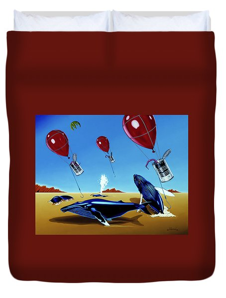 The Chase Duvet Cover