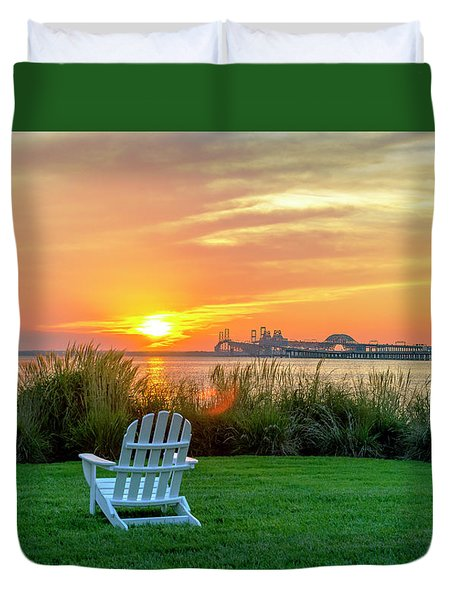The Chesapeake Duvet Cover