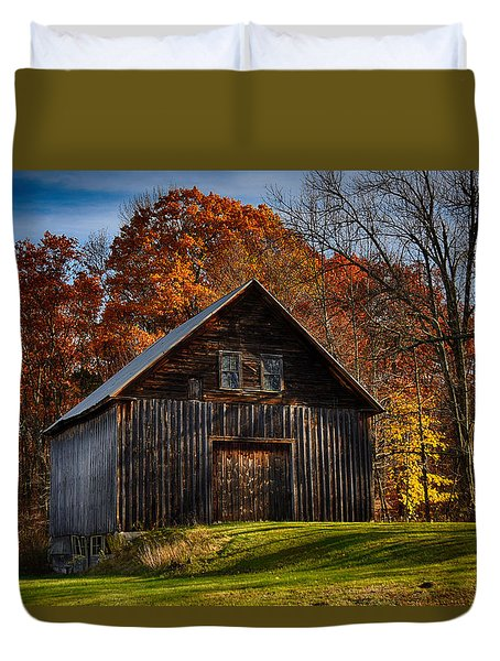 The Chester Farm Duvet Cover by Tricia Marchlik