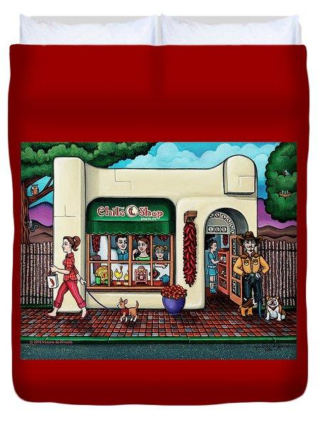 The Chile Shop Santa Fe Duvet Cover