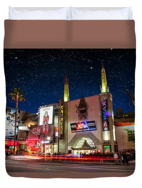 The Chinese Theater 2 Duvet Cover