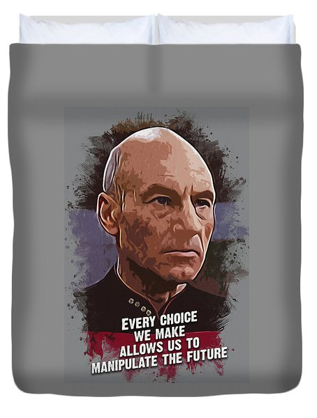 The Choice - Picard Duvet Cover