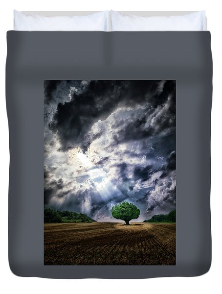 Duvet Cover featuring the photograph The Chosen by Mark Fuller