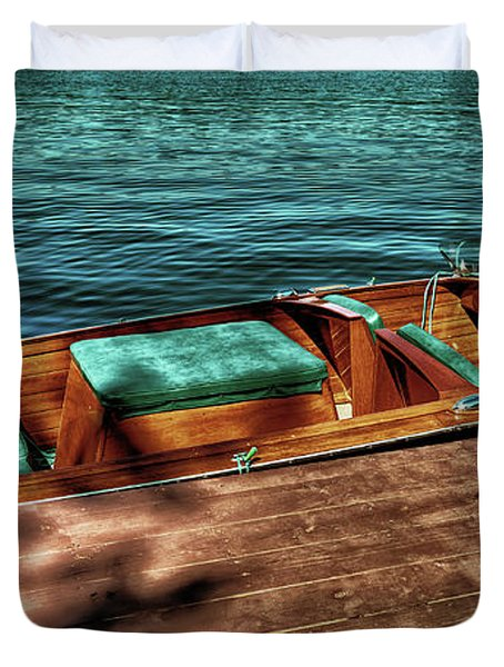 The Chris Craft Continental - 1958 Duvet Cover