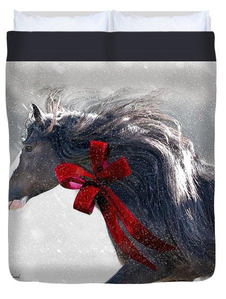 The Christmas Beau Duvet Cover