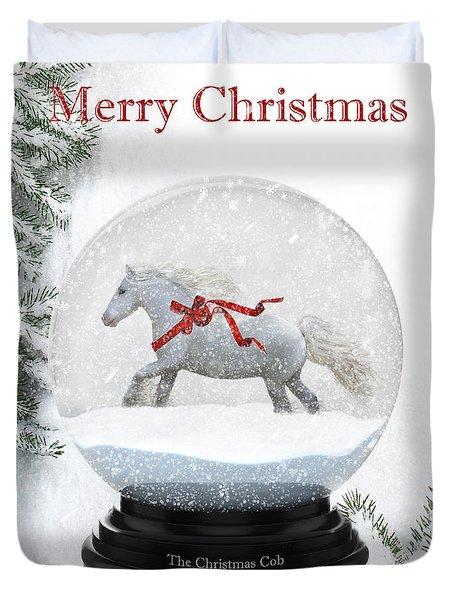 The Christmas Cob Duvet Cover