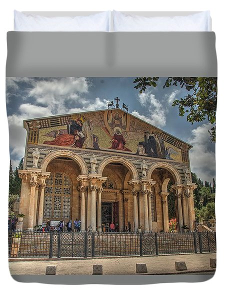 The Church Of All Nations 1 Duvet Cover
