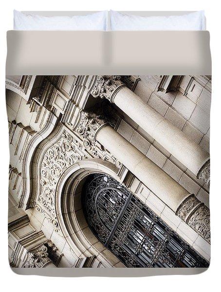 The Church Of San Francisco Duvet Cover