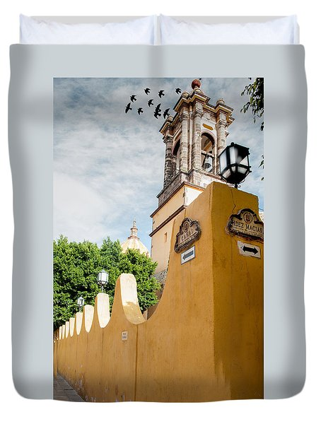 The Church Wall Duvet Cover