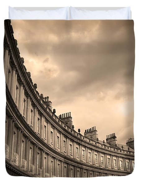 The Circus Bath England  Duvet Cover