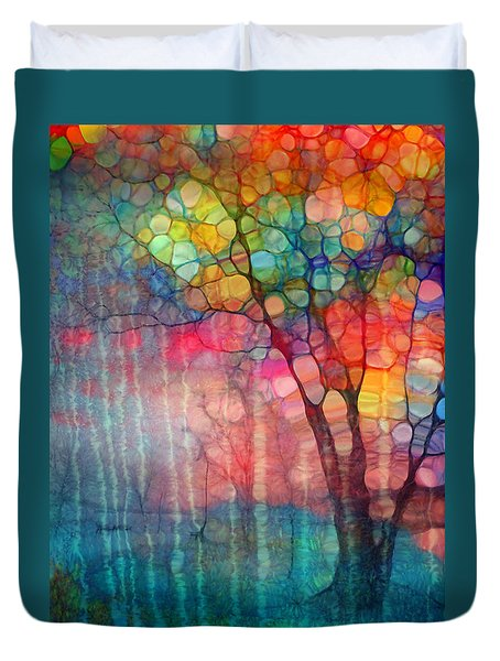 The Circus Tree Duvet Cover