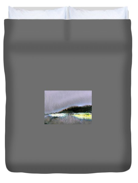The City Lights Duvet Cover by Ed Heaton