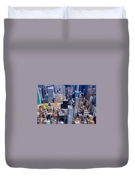 The City  Duvet Cover by Mckenzie Weldon