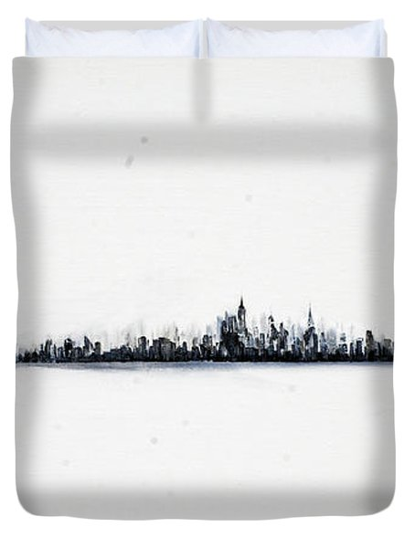 The City New York Duvet Cover