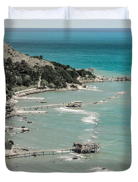 The City Of Waves Duvet Cover
