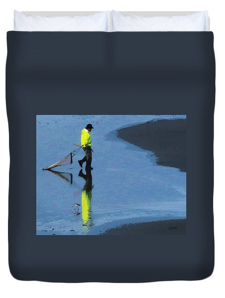 The Clammer Duvet Cover