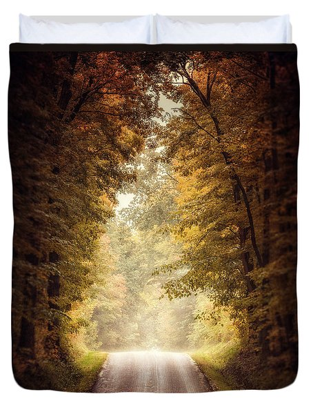 The Clearing Duvet Cover by Lisa Russo