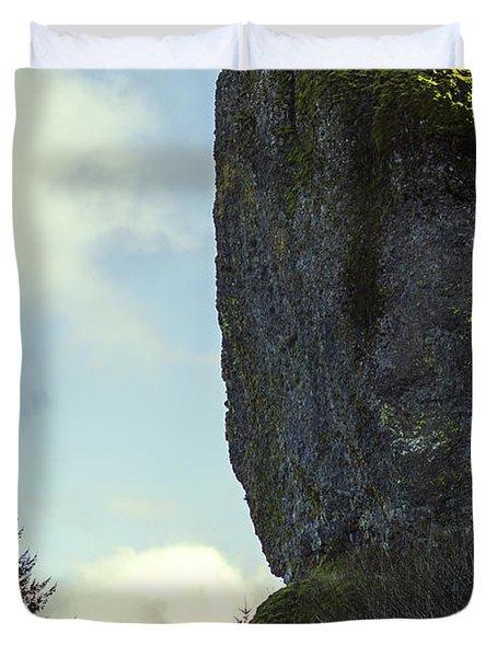 The Cliff Duvet Cover