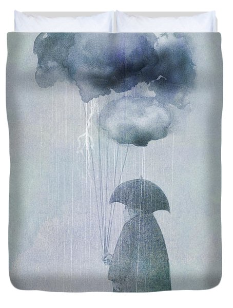 The Cloud Seller Duvet Cover