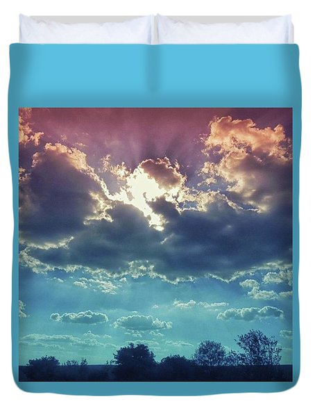 The Clouds, The Only Birds That Never Duvet Cover